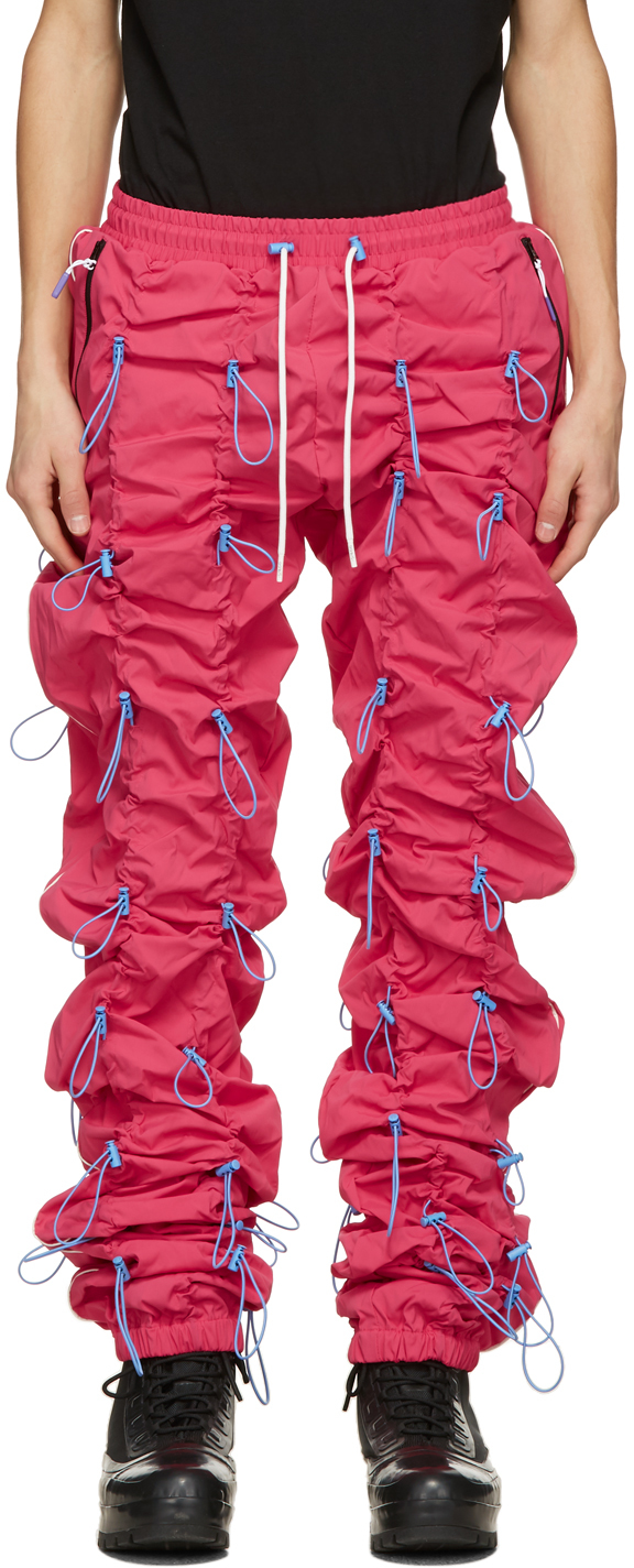 99 IS Pink Gobchang Lounge Pants 211689M190037