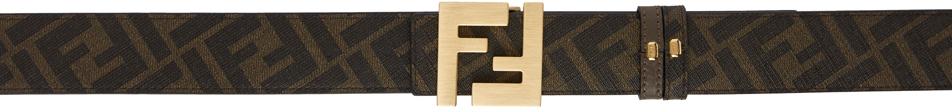Fendi Reversible Brown 'forever ' Belt In F1e6n - May