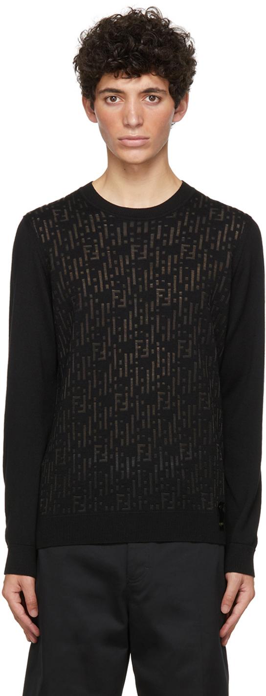 Fendi Sweater In F0qa1 Black