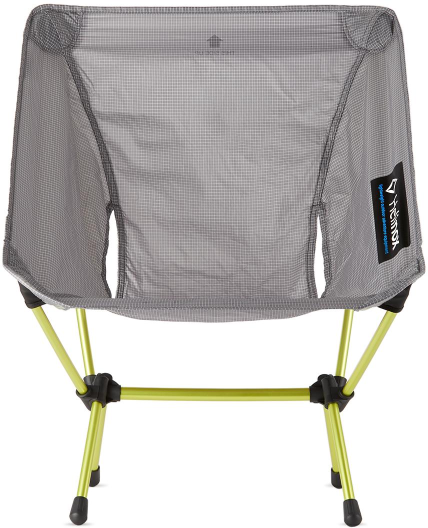 Grey & Yellow Ripstop Zero Chair