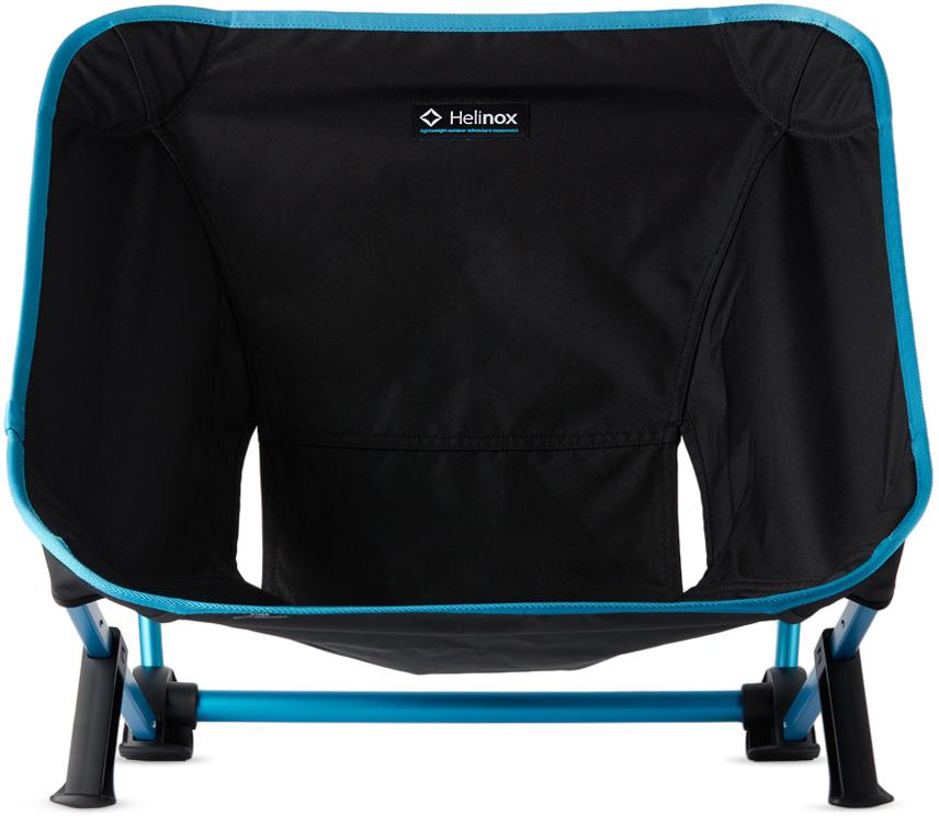 Black & Blue Incline Festival Chair