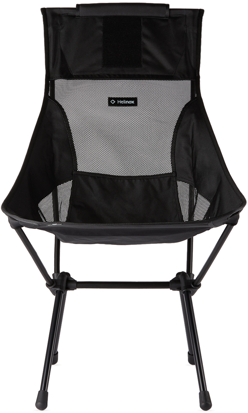 Black Canvas Sunset Chair