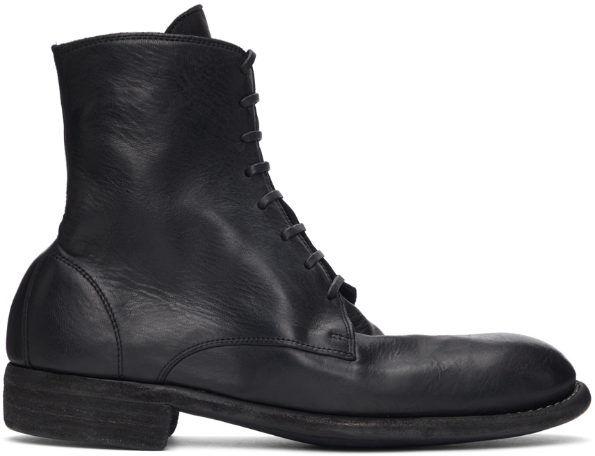 Black 995 Lace-Up Boots