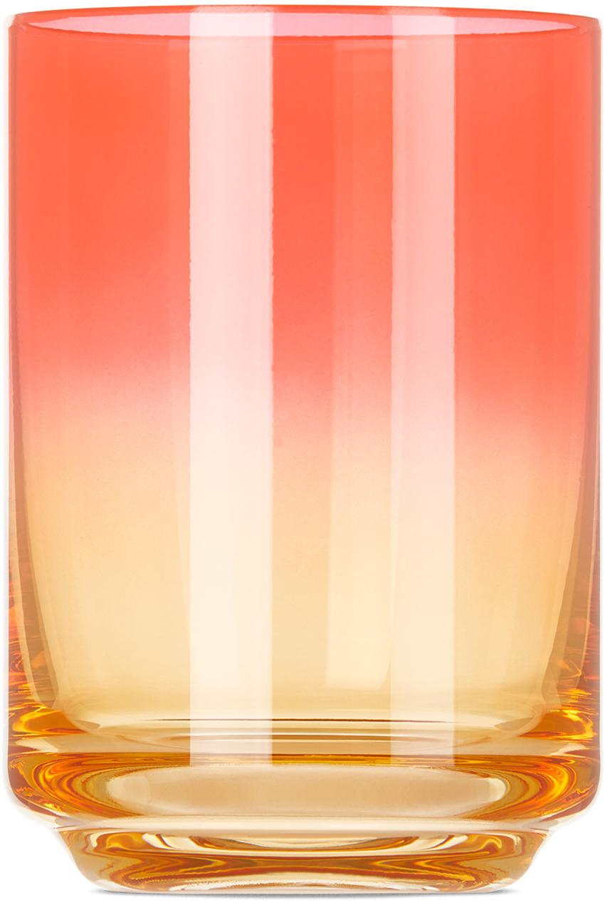 Pink & Orange Bali Gradient Glass