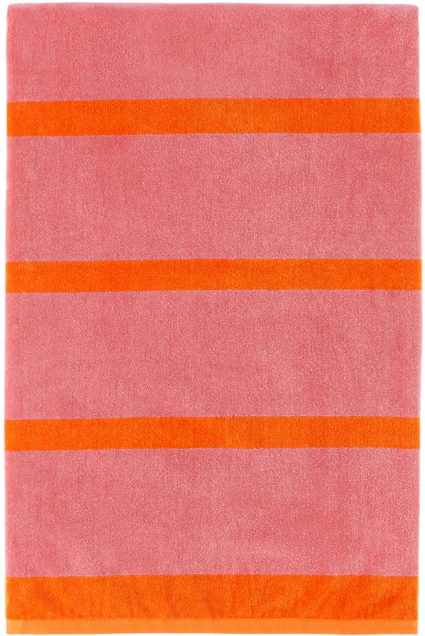 Pink & Orange Stack Towel