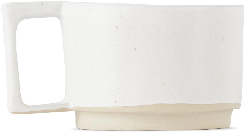 Off-White Ceramic Otto Mug