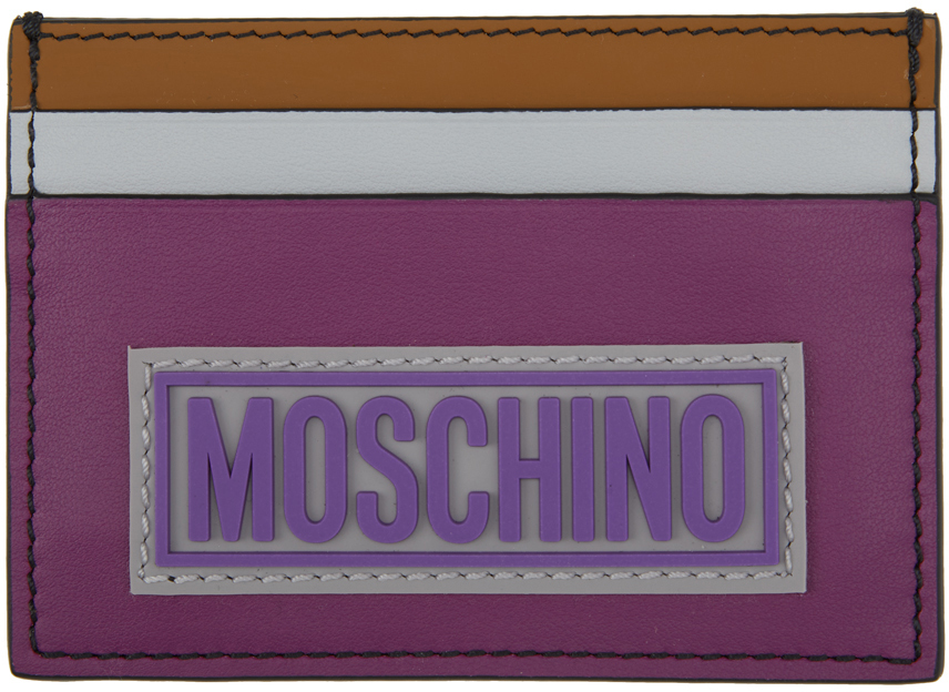 Moschino 多色 Fantasy Print 卡包