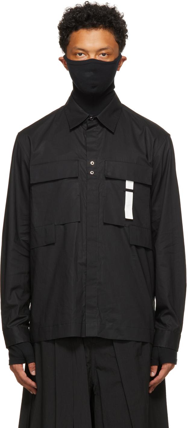 Craig Green 黑色工装衬衫