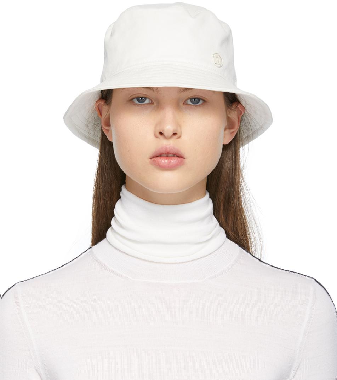 White Jason Bucket Hat