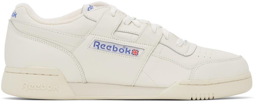 Reebok Classics 灰白色 Workout Plus 1987 TV 运动鞋