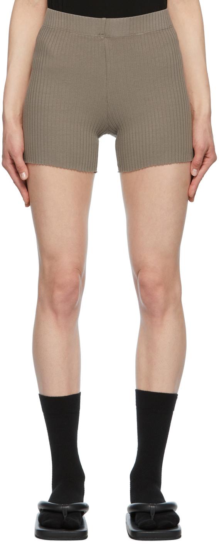 Grey Ibiza Biker Shorts