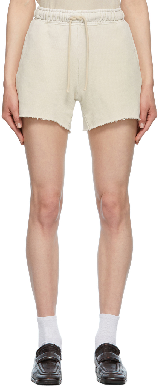 Beige Brooklyn Shorts