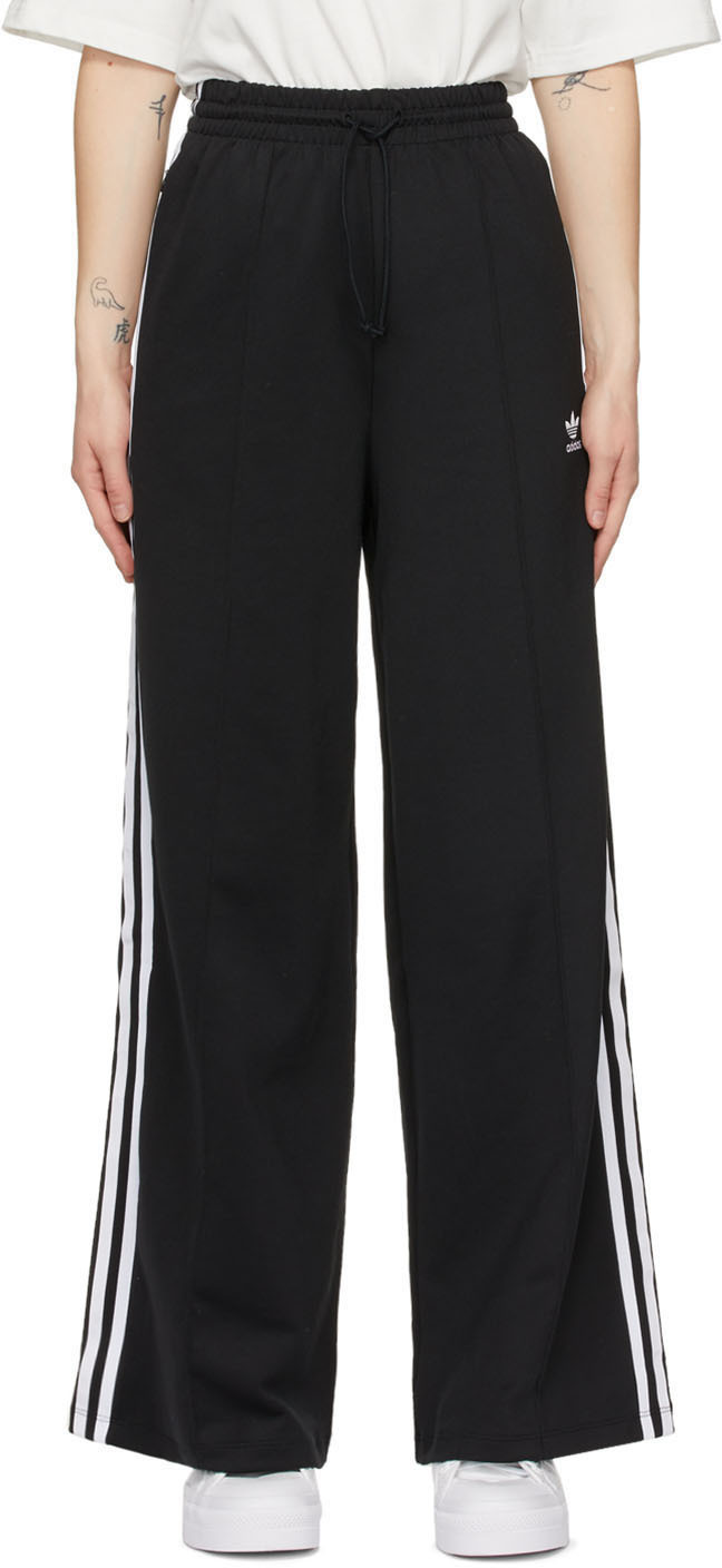 Black Adicolor Relaxed Lounge Pants