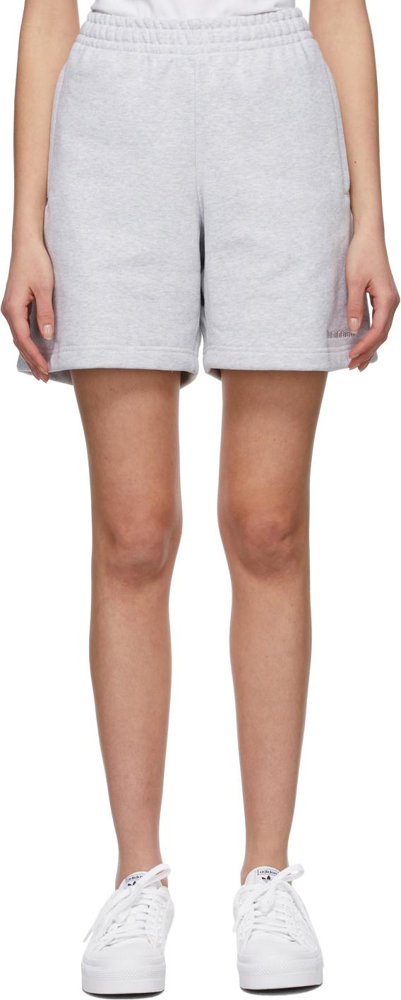 Grey Pharell Wiliams Edition Basic Shorts
