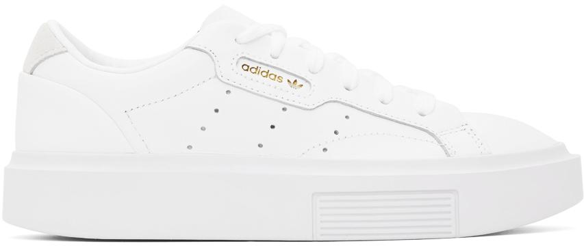 White Sleek Super Sneakers