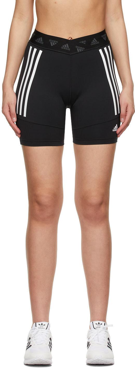adidas Originals 黑色骑行短裤
