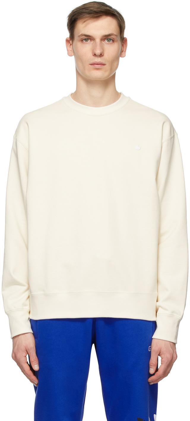adidas Originals 灰白色 Adicolor Premium 套头衫