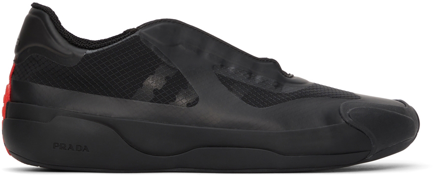 Black Prada Edition Luna Rossa Sneakers