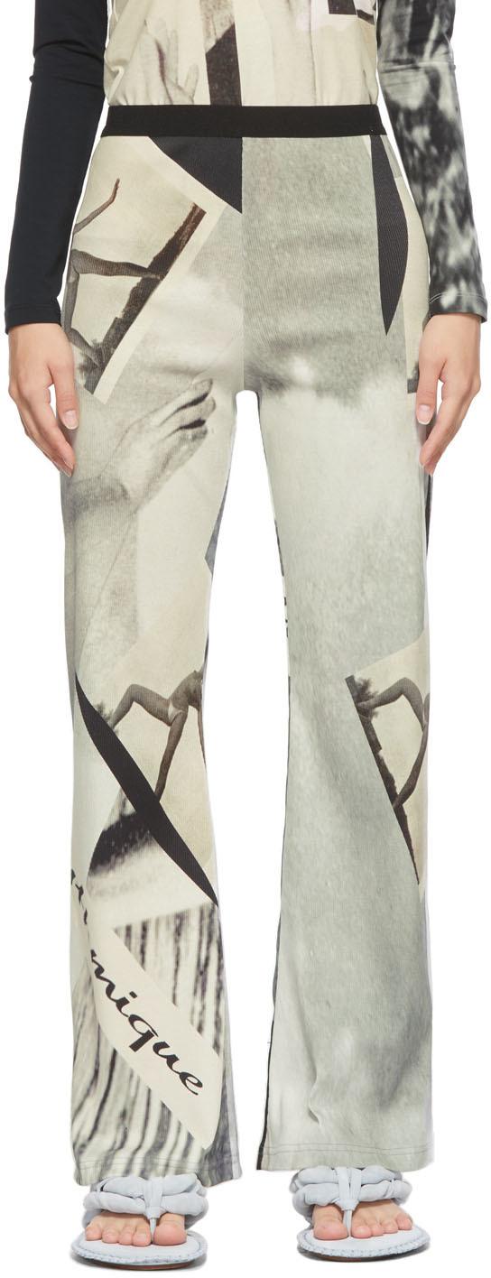 Grey Super Surfer Trousers