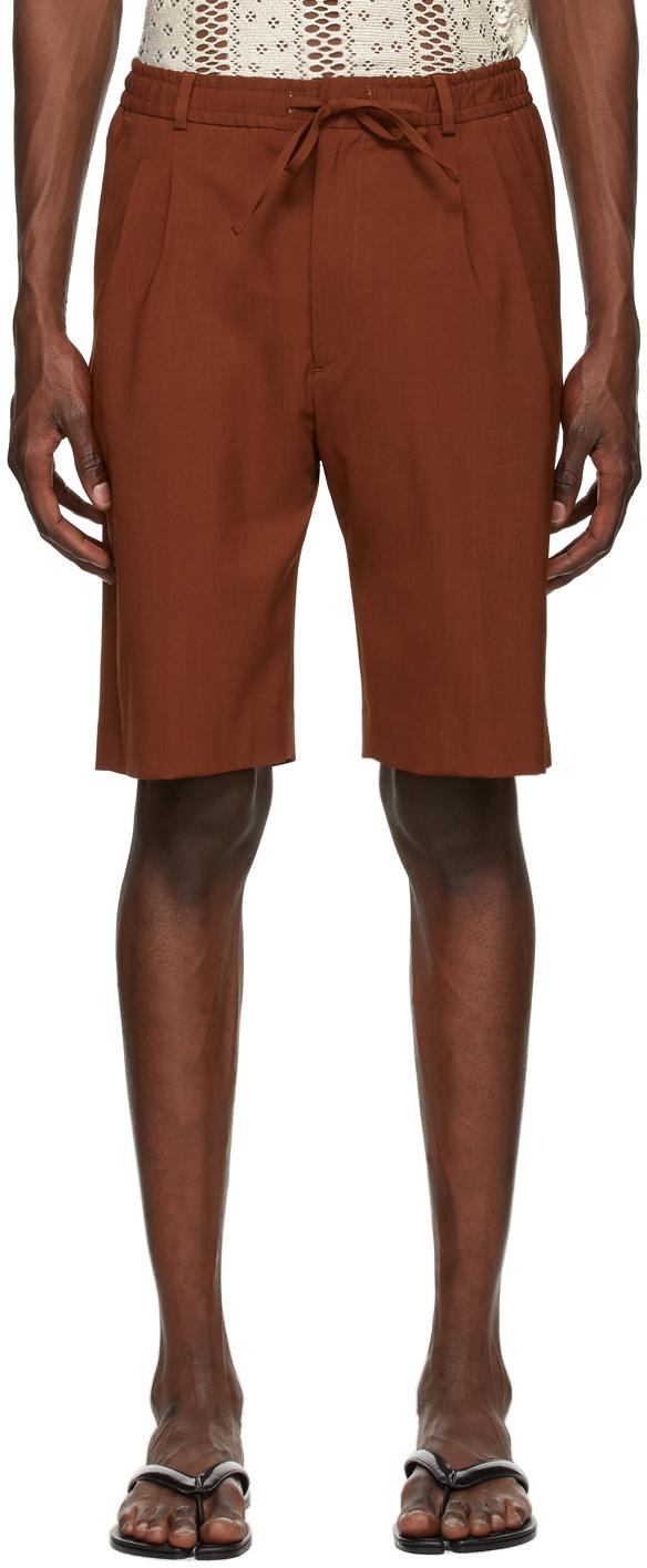 Brown Jayson Shorts