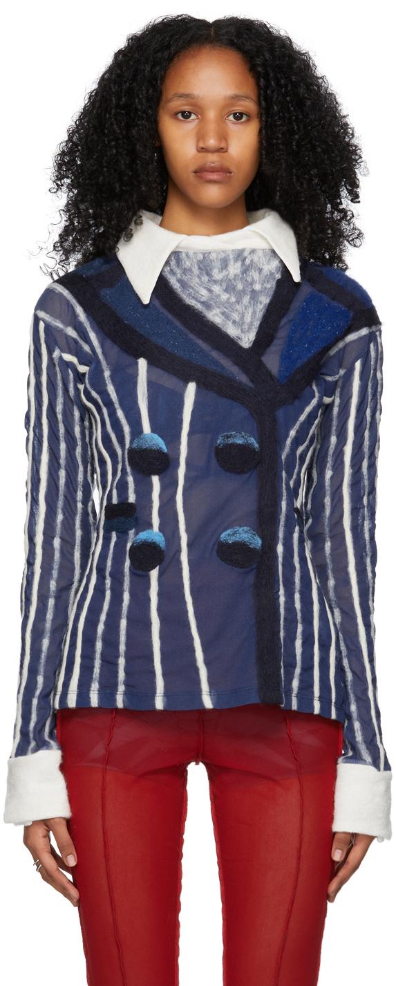 Blue Tuxedo T-Shirt