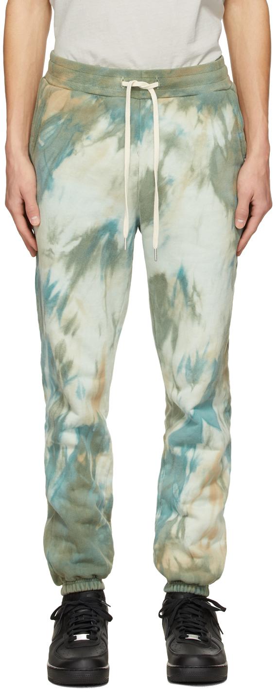 Green Tie-Dye LA Lounge Pants