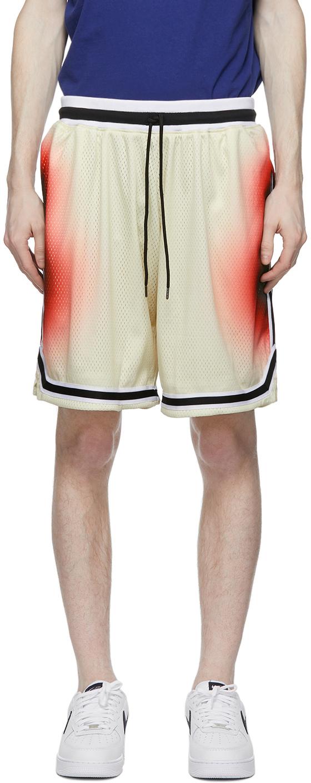 Multicolor Alien Game Shorts