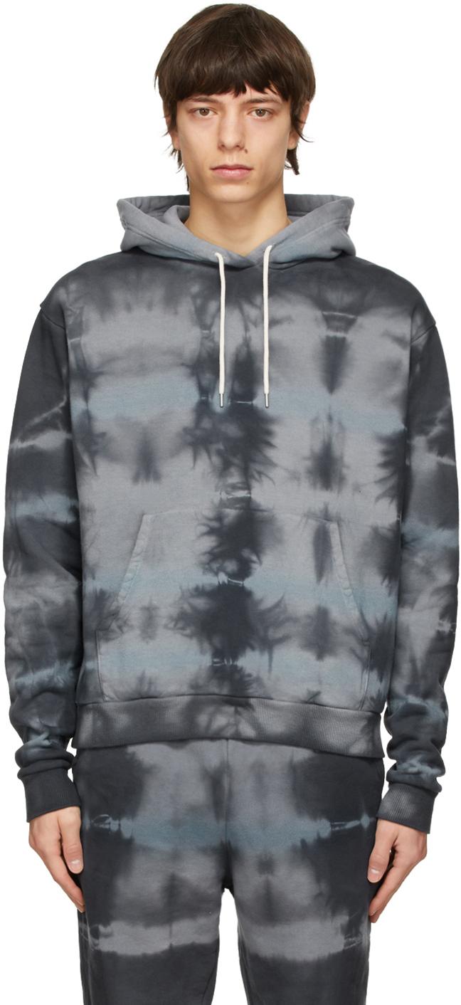 Grey Tie-Dye Sequoia Hoodie