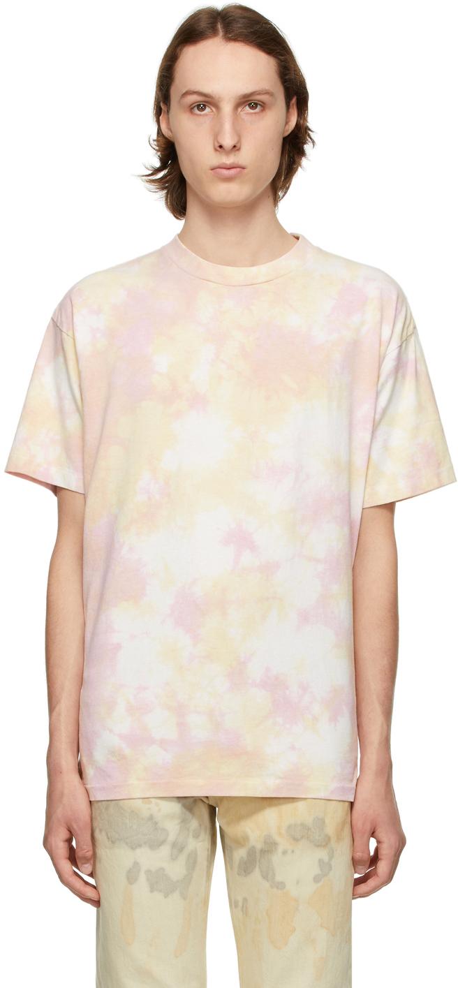 Pink Tie-Dye University T-Shirt