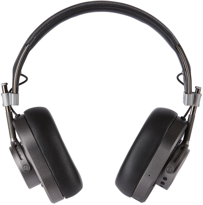 Black MH40 Headphones