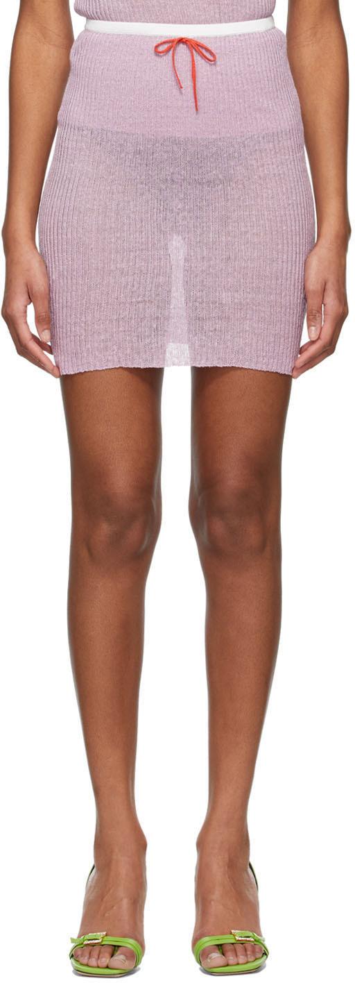 Cormio Purple Valentine Skirt