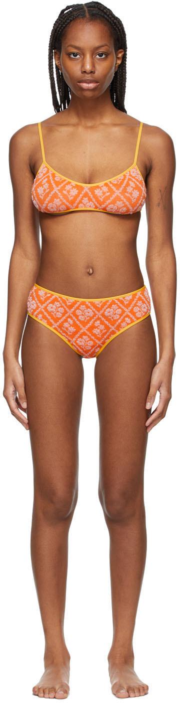 Cormio Orange Sandy Bikini