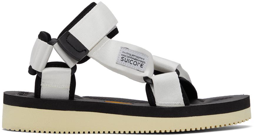 Suicoke 白色 DEPA-V2 凉鞋
