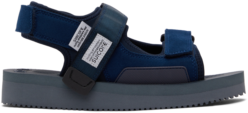 Suicoke 海军蓝 WAS-V 凉鞋