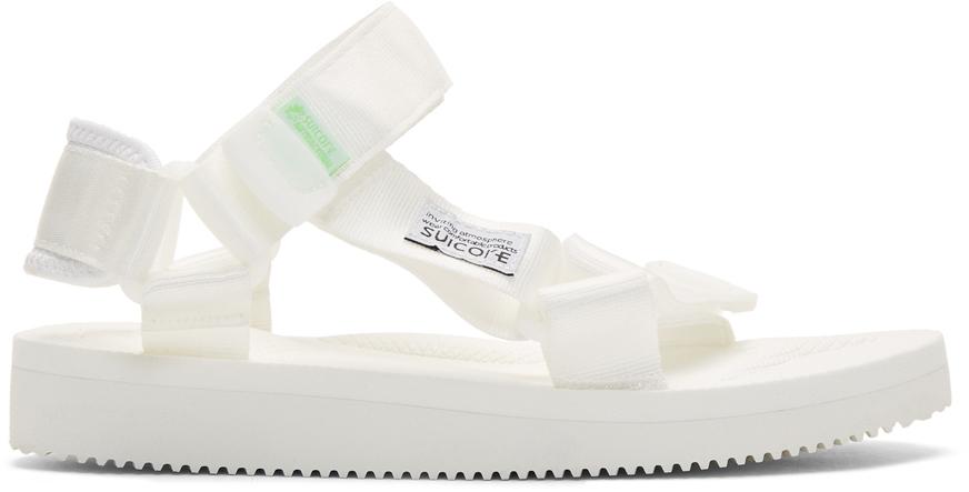 Suicoke 白色 DEPA-CAB 凉鞋
