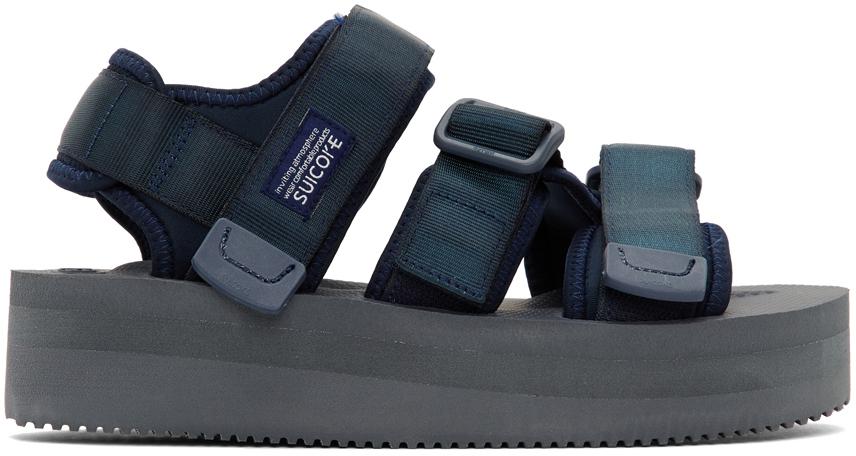 Suicoke 海军蓝 KISEE-BPO 凉鞋
