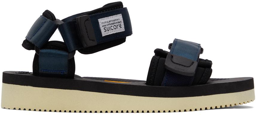 Suicoke 海军蓝 CEL-V 凉鞋