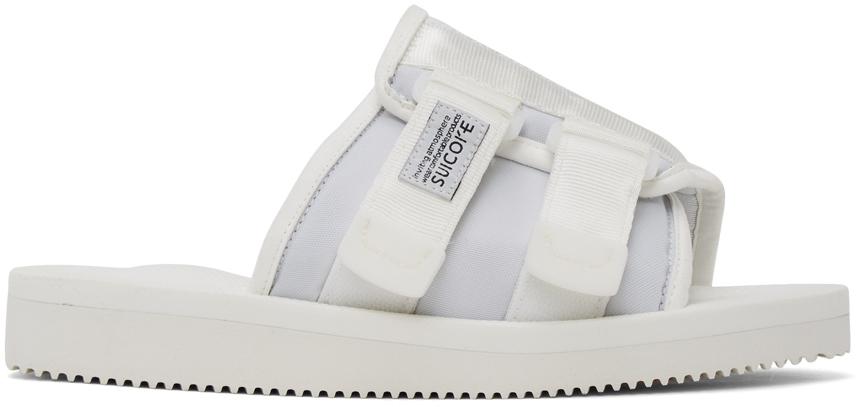 Suicoke 白色 KAW-CAB 凉鞋