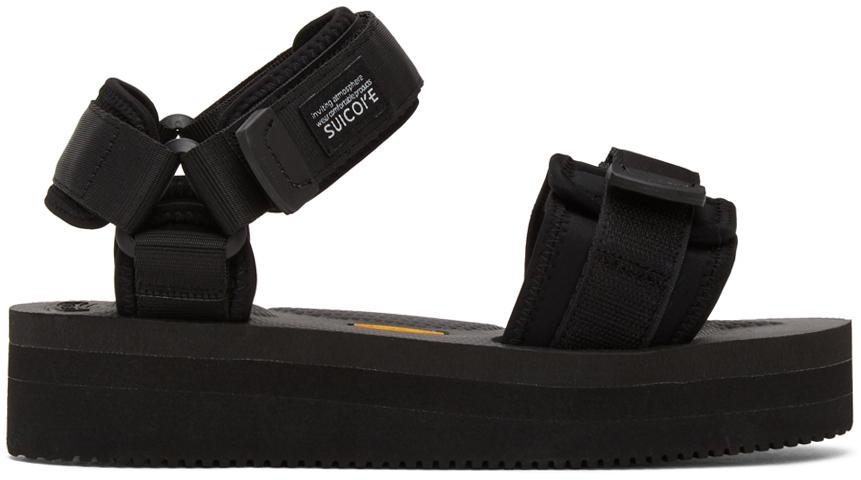 Suicoke 黑色 CEL-VPO 凉鞋