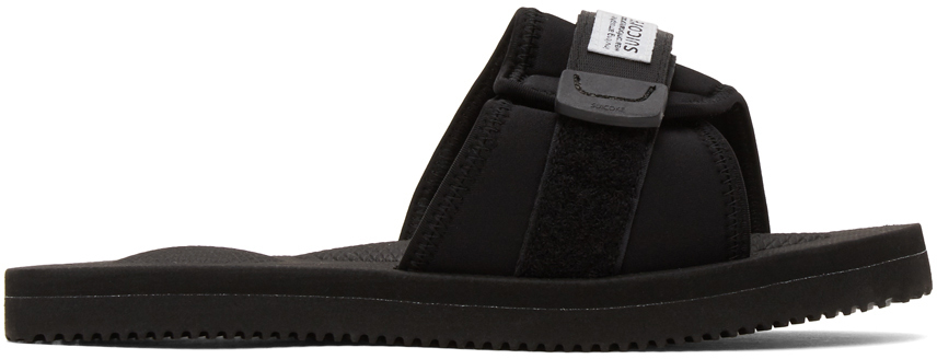 Suicoke 黑色 PADRI 凉鞋