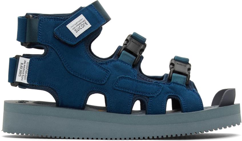 Suicoke 海军蓝 BOAK-V 凉鞋