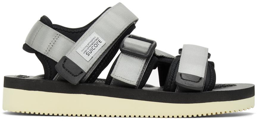 Suicoke 灰色 KISEE-V 凉鞋