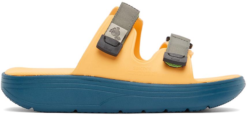 Suicoke 橙色 & 蓝色 ZONA 凉鞋