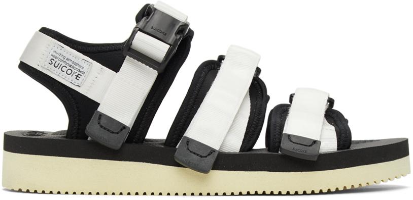 Suicoke 白色 GGA-V 凉鞋