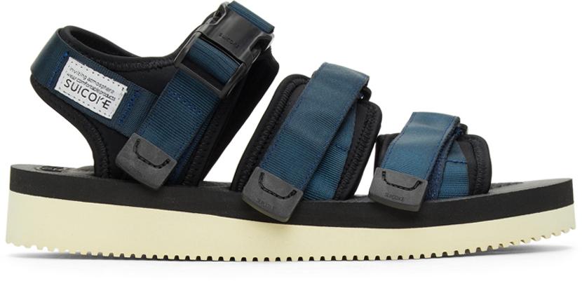 Suicoke 海军蓝 GGA-V 凉鞋