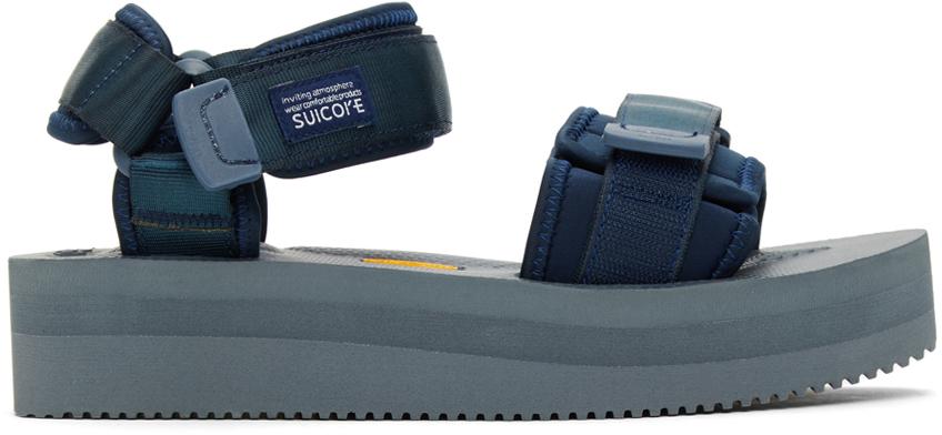 Suicoke 海军蓝 CEL-VPO 凉鞋