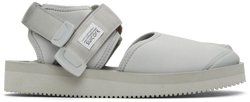 Suicoke 灰色 BITA-V 凉鞋