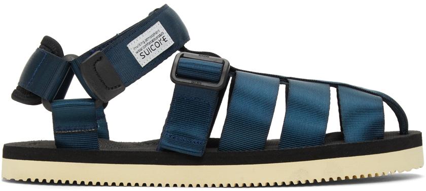 Suicoke 海军蓝 SHACO 凉鞋