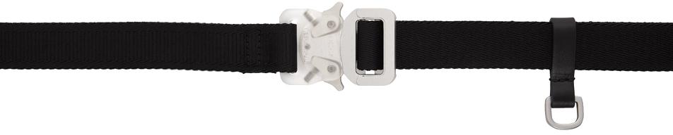 1017 ALYX 9SM Black Medium Mixed Rollercoaster Belt 211776F001060