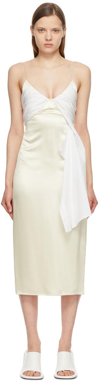 1017 ALYX 9SM Beige White Foulard Formal Dress 211776F054041